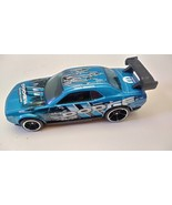 Hot Wheels Car 2010 Dodge Challenger Drift Blue Loose - $13.99