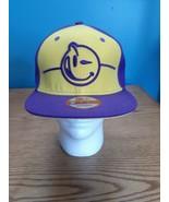Yums New Era 9Fifty Purple Yellow 2012 Snapback Baseball Cap Hat - $25.69