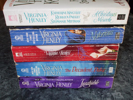 Virginia Henley lot of 5 historical romance paperback - $5.99