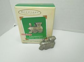 Hallmark Keepsake 2002 Monopoly Locomotive Pewter #3 In The Series - $14.01