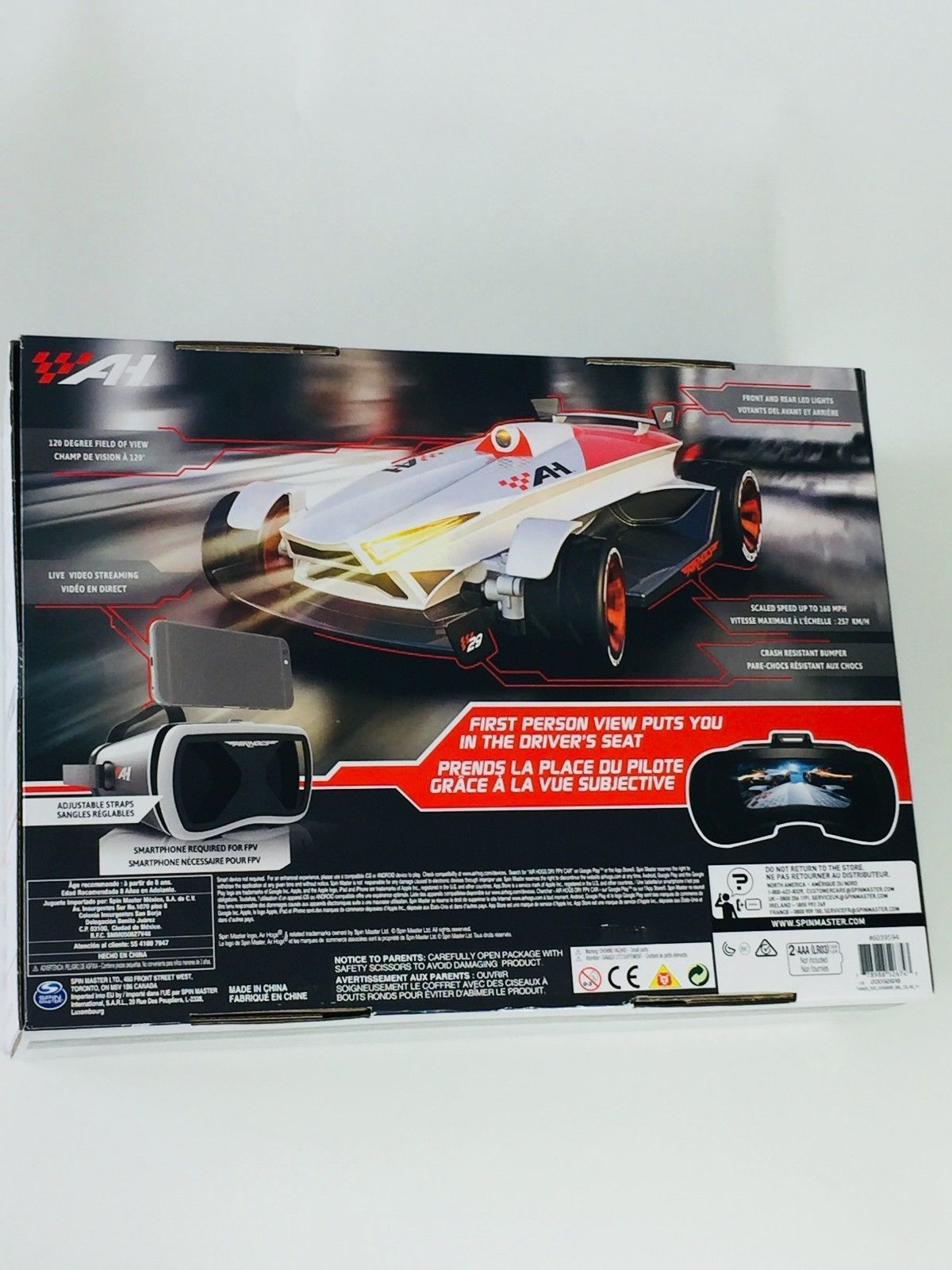Air Hogs Fpv High Speed Race Car W Headset And 27 Similar Items