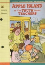 Apple Island, or The Truth about Teachers by Evans, Douglas image 1