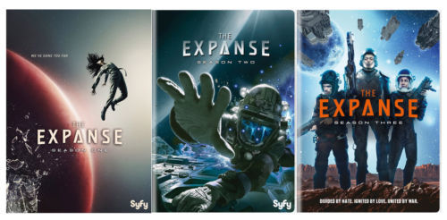 THE EXPANSE: Complete Series Season 1 2 & 3 DVD Sets [New]