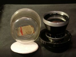 Carl Zeiss Pro-Tessar Lens f=115mm with fitted Zeiss Ikon Case AA-192033 Vintage image 5