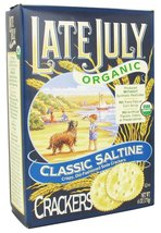Late July Organic - Classic Saltine Crackers - 6 oz (pack of 2) - $18.80
