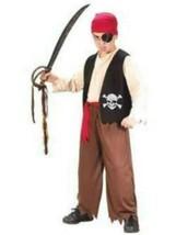 Pirate Boys Classic Playful 5 Pc Halloween Costume-sz OS 8-12 - $19.80