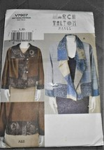 Pattern Vogue Designer Jacket March Tilton V7907 Uncut Factory Folded - $14.35
