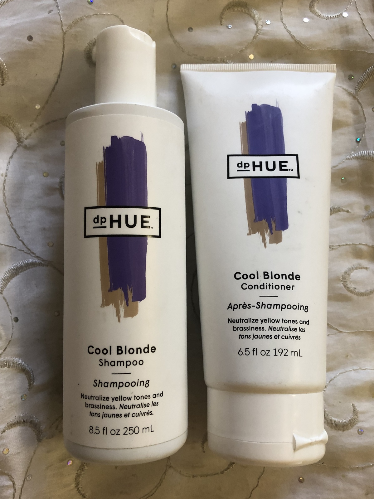 Primary image for dp HUE Cool Blonde Shampoo & Conditioner set