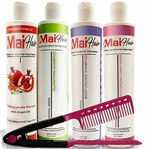 Complex Brazilian Keratin Hair Treatment Complex Kit with Argan Oil Impr... - $110.26