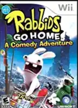 Wii Rabbids Go Home Video Game - $5.00