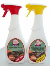 Set of 2: Oven & Grill Cleaner & Degreaser Cold Action, Fume Free 27 Oz. Kosher - $27.99