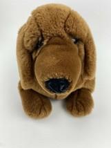 """Dakin Lou Rankin Plush Stuffed Animal Dachshund Dog Brown Fat 16"""" Long Cute - $28.70"""