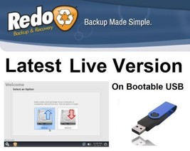 Redo: Clone, Copy Backup & Restore your Partition / Hard Drive on bootab... - $10.74