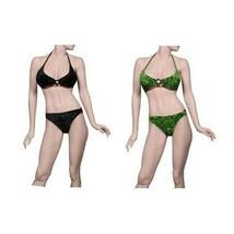 Women's Juniors Leg Avenue Velour Swimsuit Bikini Set One Size Fits Most - $4.79