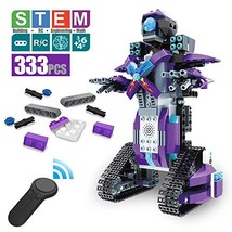 DAZHONG Remote Control Building Block Robot Educational Electric RC (Pur... - $55.61