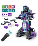 DAZHONG Remote Control Building Block Robot Educational Electric RC (Pur... - $64.90