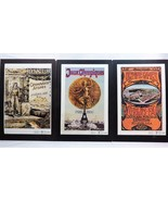 Complete Set of 20 Canon Modern Olympics Lithograph Mounted 1864-1984 - $93.95