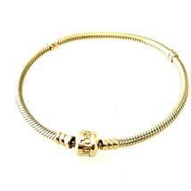 "Pandora  14K Solid Yellow Gold Charm Bracelet 7.25"" Inch Long - $1,349.00"