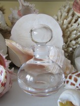 """Beautiful Crystal Perfume Bottle~3"""" Tall~Mint Condition~The Perfect Gift - $119.99"""