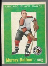 1959-60 Topps #33 Murray Balfour (RC) VG - $14.83