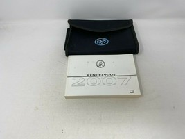 2007 Buick Rendezvous Owners Manual Handbook With Case OEM Z0A0044 - $31.67