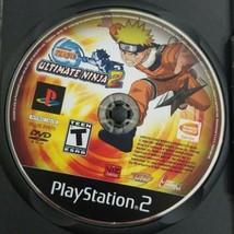 Naruto Ultimate Ninja 2 PS2 Game 2007 Bandai Disc Only Playstation 2 - $4.99