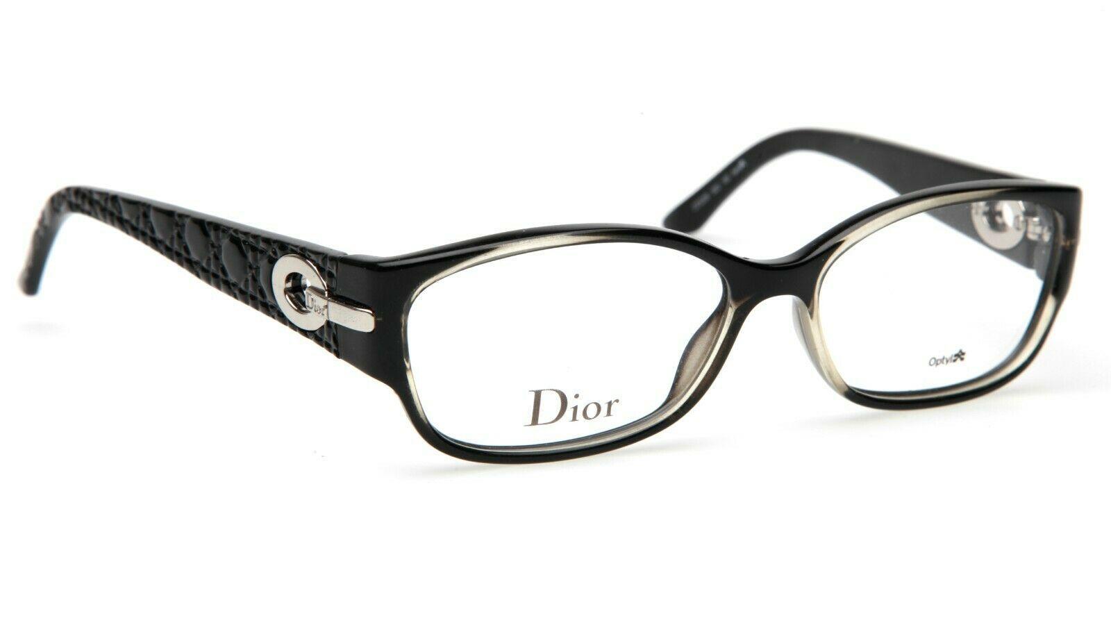 New Christian Dior CD3205 S02 Black EYEGLASSES FRAME 54-15-135mm Italy - $151.89
