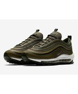 NEW Nike Air Max 97 Olive Green Running Shoes 921733-200 Size 11 - $138.59