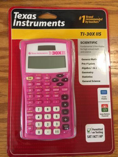 Texas Instruments Ti 30x Iis Scientific And 49 Similar Items