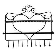 Jewelry Display Stand Rack, Wall Mount Heart Shape Jewelry Organizer - $18.99