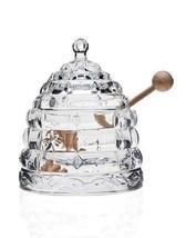 Studiosilversmiths 44153 Beehive Crystal Honey Jar - $45.51