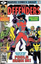 The Defenders Comic Book #74, Marvel Comics 1979 FINE- - $2.25