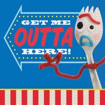 Toy Story 4 Get Me Outta Here Lunch Napkins Birthday Party Supplies 16 C... - $3.55