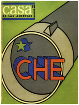"11x14""Decoration Poster.Interior design art.Casa de las Americas.Che.Cuba.6345 - $12.00"