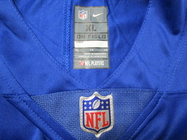 ELI MANNING / AUTOGRAPHED NEW YORK GIANTS BLUE PRO STYLE FOOTBALL JERSEY / COA image 5