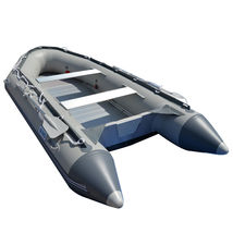BRIS 1.2mm PVC 14.1ft Inflatable Boat Rescue Raft Power Boat With Free Bimini  image 6