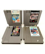 Nintendo NES-Lot of 4 Video Games-Wheel of Fortune, Marble Madness, Anti... - $18.69