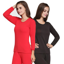 High Quality Full Body Velvet Thick Warm Suit Women Winter Round Neck La... - $42.50