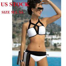 Summer Women Padded Wireless Bikini Set Two Piece Swimwear Swimsuit Beachwear US image 2