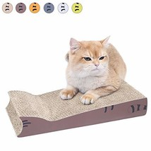 AMZNOVA Recyclable Cat Scratcher & Lounge, Cat-Shaped Claws Scratching P... - $15.38