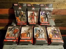 """Marvel Legends Deadpool Complete Set of 7 BAF 6"""" Action Figures Mint Boxes - $168.98"""