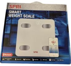 New Spri Smart Bluetooth Weight Scale Balance Intelligent Body BMI BMR Tracker - $44.55