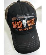 Hard Core Hunter Snapback Hat Realtree Camo Rifle Deer Skull Baseball Cap - $3.89