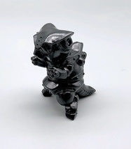 "Max Toy ""Smoke"" Clear Black Mini Mecha Nekoron image 3"