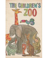 The Children's Zoo 1960s Vintage Picture Book from Eli Lilly Novacebrin ... - $9.89
