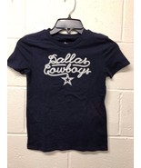 NEW NFL  Dallas Cowboys GIRLS Team Shirt Blue T-shirt  LARGE-XL - $8.39