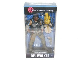NIB GEARS OF WAR 4 DEL WALKER #14 ACTION FIGURE McFARLANE TOYS  - $24.99