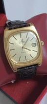 20 mic GP Automatic men Tv Jumbo Omega Genève Golden dial date @ 3 Cal 1012 23J - $449.10
