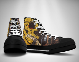 Danzig Band Canvas Sneakers Shoes - $49.99