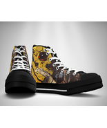 Danzig Band Canvas Sneakers Shoes - $29.99